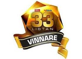 33-listan vinnare
