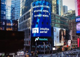 Intuitive Aerial välkomnas på Nasdaq