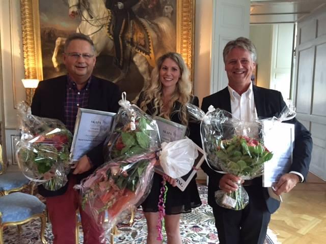 Invisense vinnare av SKAPA-priset 2017 i Östergötland