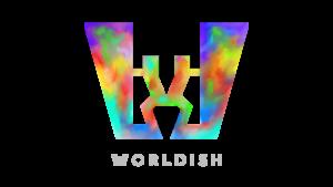 worldish logotyp