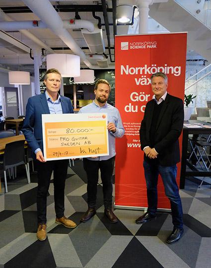 ProGuitar tilldelas Alfa-stiftelsens medel 2017