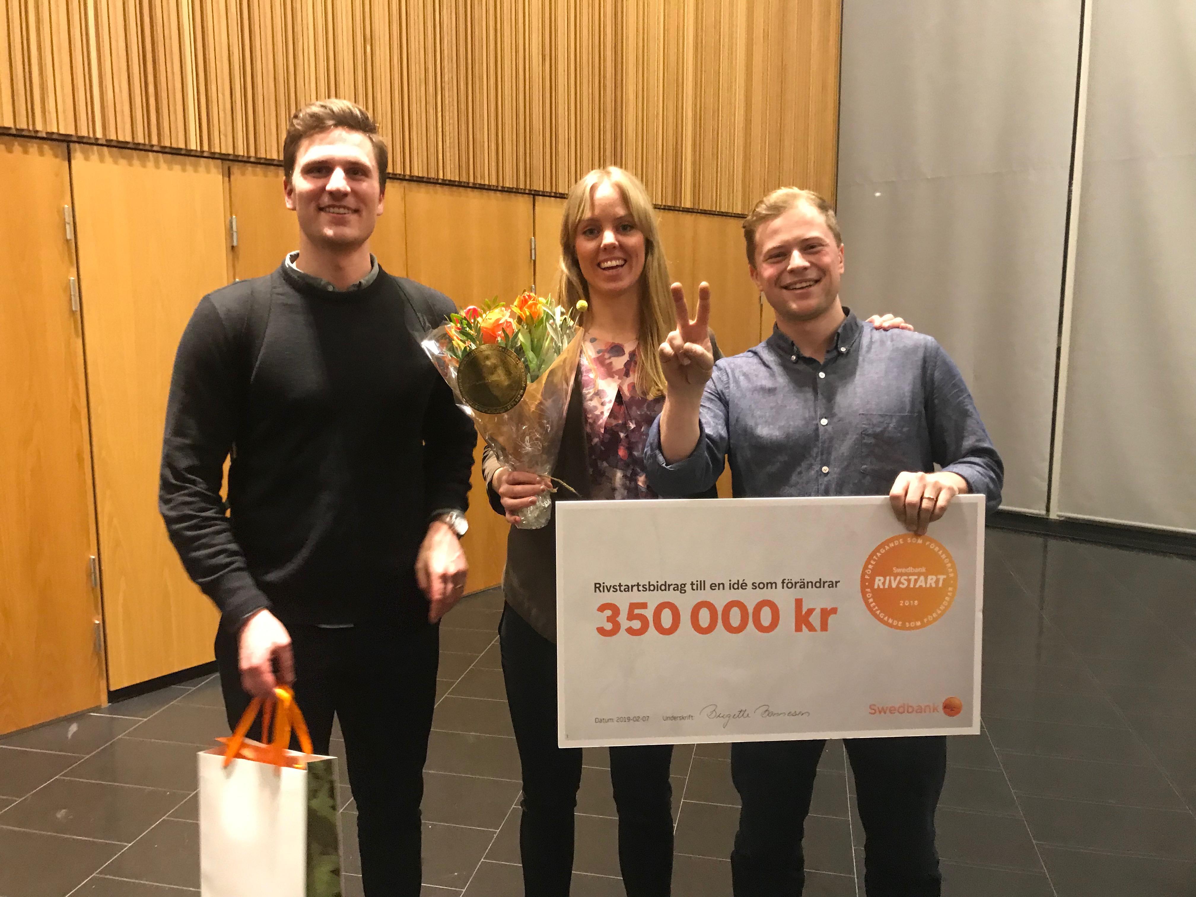Skira tog hem andra platsen i Swedbank Rivstart 2019