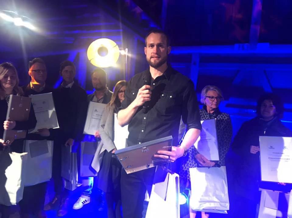 Åforsk Entreprenörsstipendium 2019 Isak Nielsen
