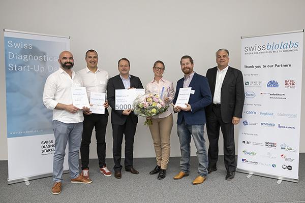 Bioreperia, vinnaren av Swissbiolabs Challenge 2019