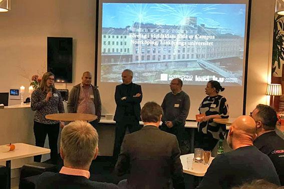 Innovationmingel i Norrköping med NOSP, LEAD och Liu 2019