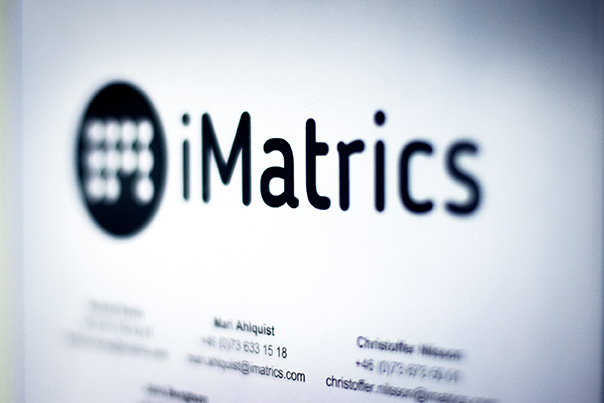 Imatrics skylt